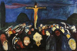Edvard Munch - Golgotha