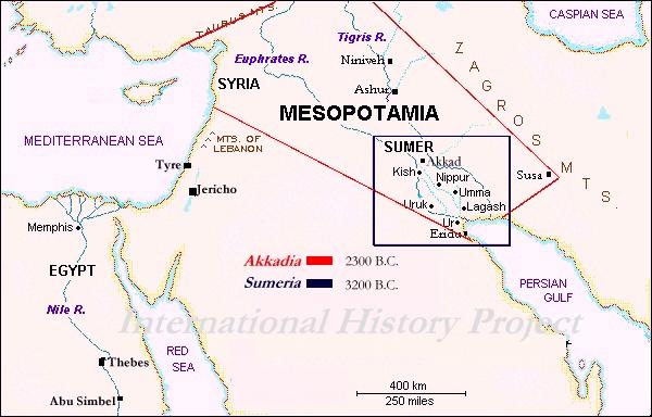 Mesopotamia - Sumer - Akkad