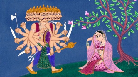 ravana-sita-painting